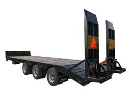 Low loader Low bed trailer