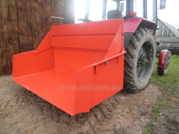 Hydraulic container